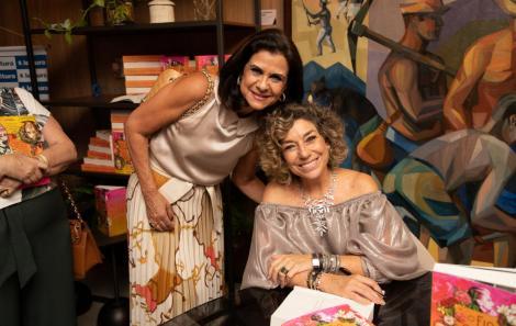Sandra Maciel e Consuelo Blocker