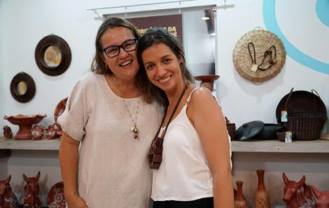 Jaqueline Azevedo e Teresa Carvalho