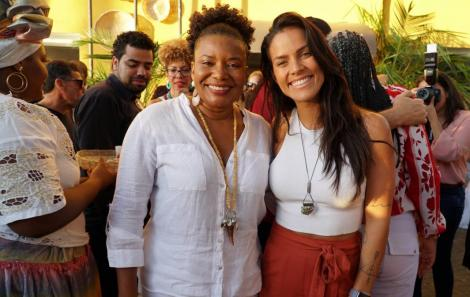 Margareth Menezes e Ju Moraes