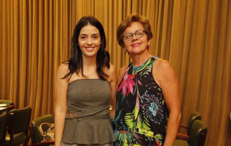 Camila Lucas e Edza Brasil