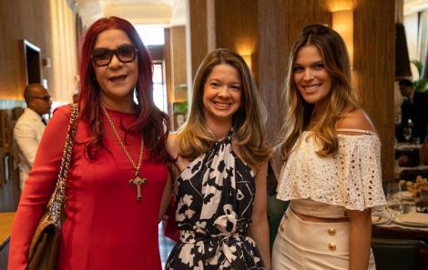Jussara Amorim, Ana Paula Suarez e Stephanie Mattos
