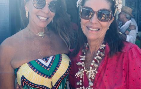 Carol Pedreira reuniu mais de 100 convidados do Bem na Gamboa