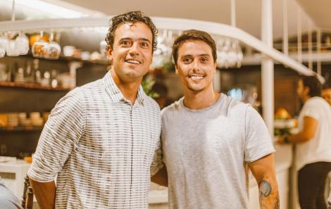 Guido Ramos e Guilherme Guerra - Foto Agência Hike