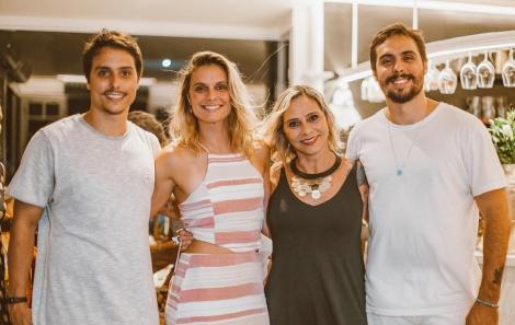 Guilherme, Isabela, Rosa e Gabriel Guerra - Foto Agência Hike