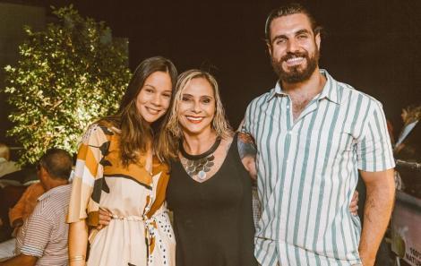 Jéssica Duarte, Rosa Guerra e Gabriel Carvalho - Foto Agência Hike