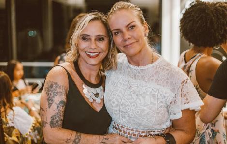 Rosa Guerra e Marcella Pessoa - Foto Agência Hike