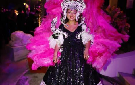Baile Bahia Real Masqué no Palácio da Aclamação