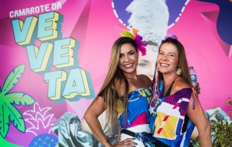 Ana Sales e Lu Vidigal