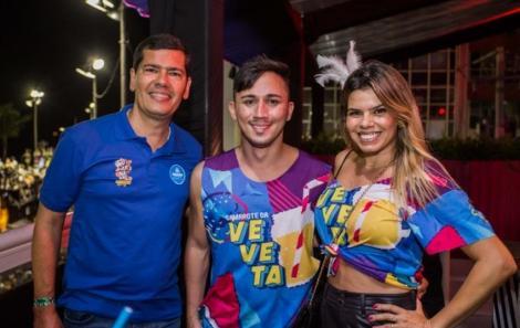 Tamyr Motta, Cláudio e Alana Tinoco