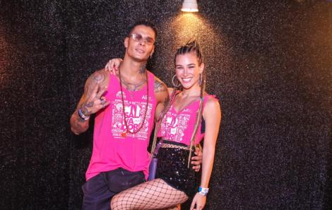 Rodrigo Lima e Marcela Fetter