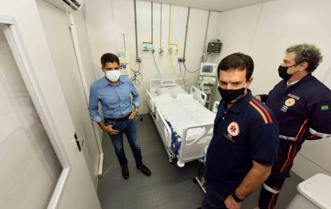 Pref ACM Neto_Hospital de Campanha do Wen't Wild_foto Valter Pontes - SECOM
