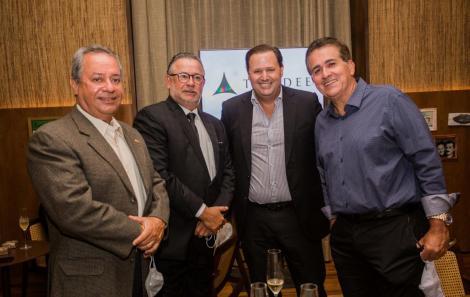 Ricardo Alban, Ricardo Luzbel, Mário Dantas e Paulo Evangelista