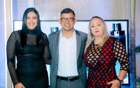 Licia Santana, Emerson barbosa e Ana Paula Oliveira - Emerson e Ana são uns dos sócios - Foto Lara Telles