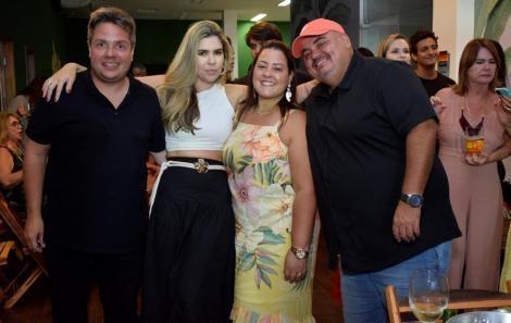 Rafael Cal Fernanda Lima e amigos